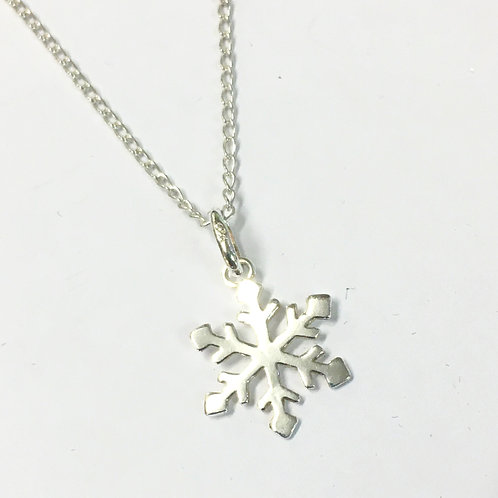 Simple Snowflake Pendant