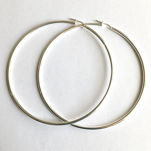 70mm Very Large Hinged Hoops