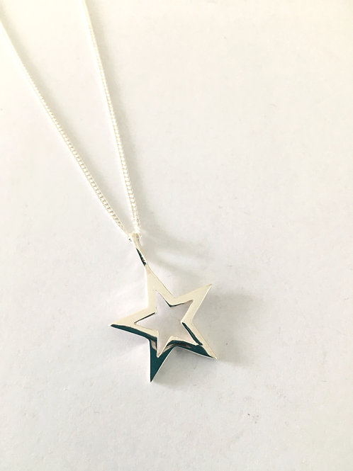 Open Star Pendant