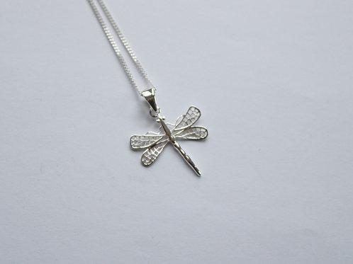 Filigree Dragonfly Pendant