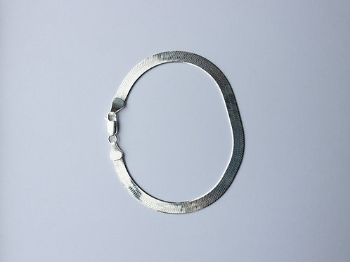 Herringbone Shiny Bracelet