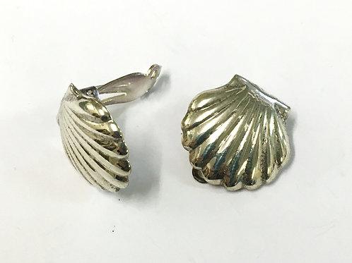 Shell Clip On Earrings