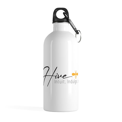 Hive Logo Stainless Steel Water Bottle