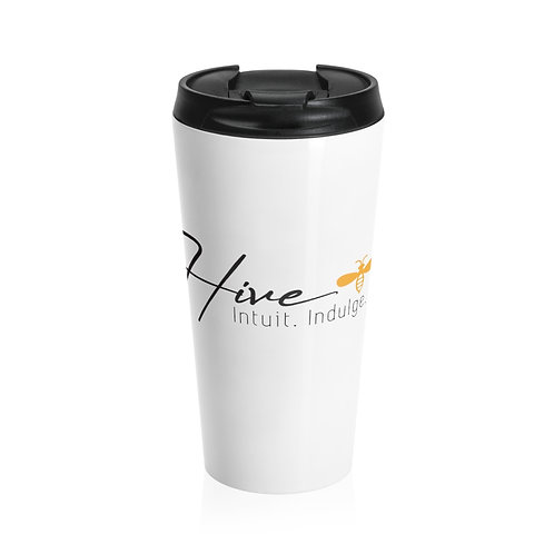 Hive Logo Stainless Steel Travel Mug