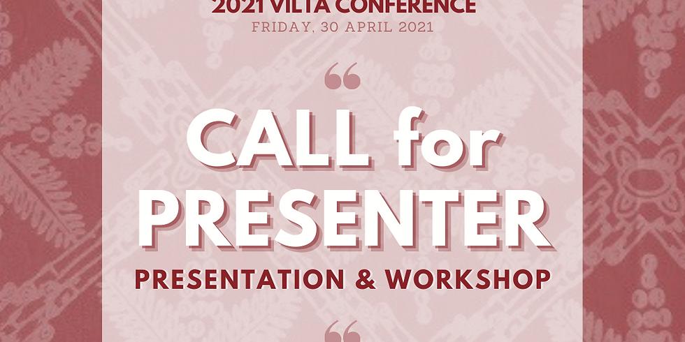 Call for Presenter - 2021 VILTA Conference
