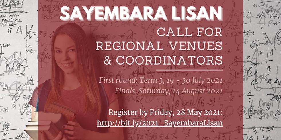 CALL for Regional Venues & Coordinators