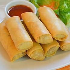 Crispy Vegetable Egg Rolls (4)