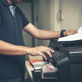 Manutenção de impressoras e copiadoras