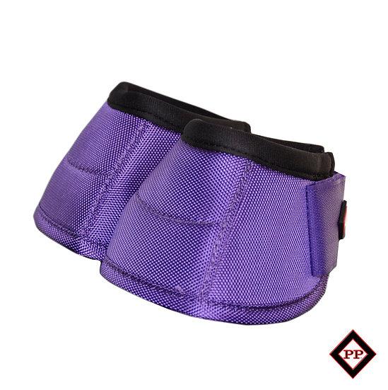 Pony No-Turn Bell Boot -Purple