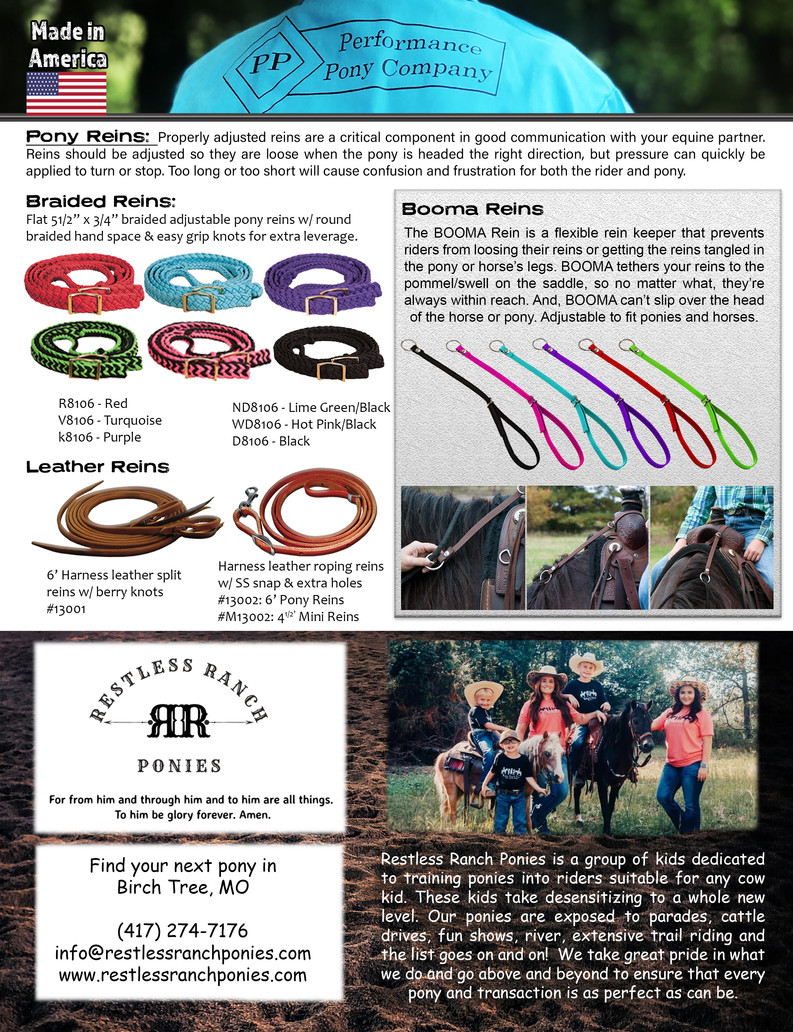 Page 12 reins, billets and boomas RRP C5