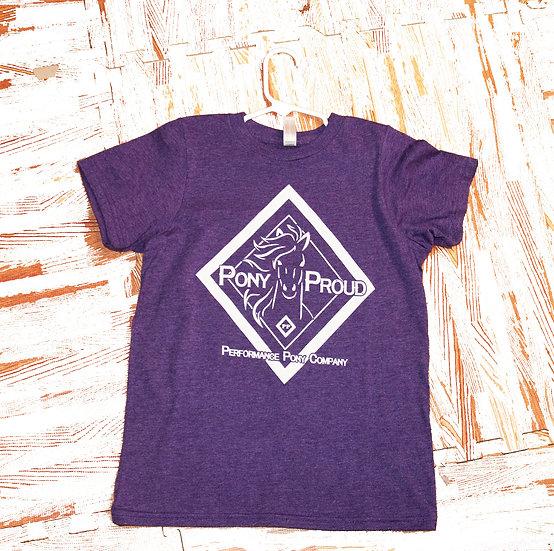 Purple Pony Proud Youth T-Shirt