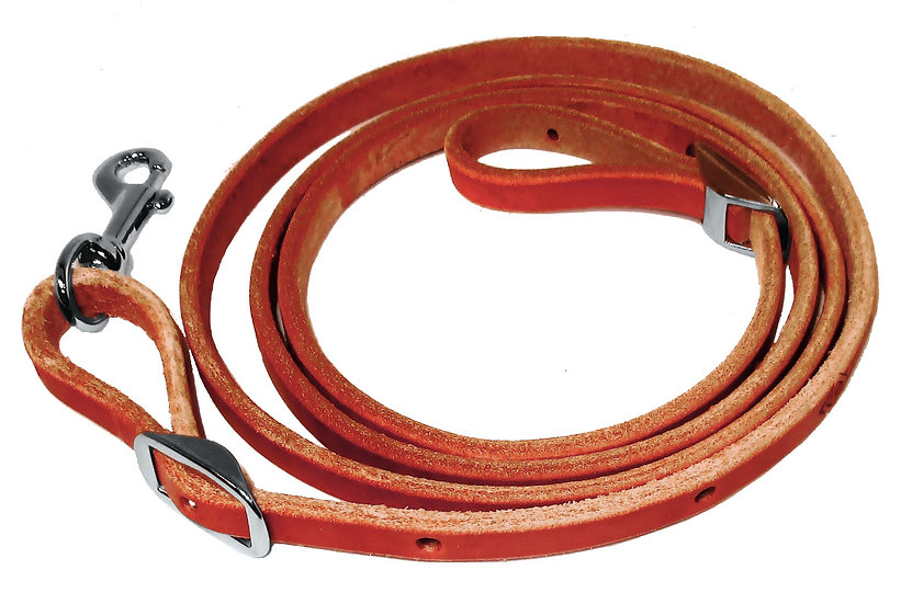 Leather Pony Roping Reins
