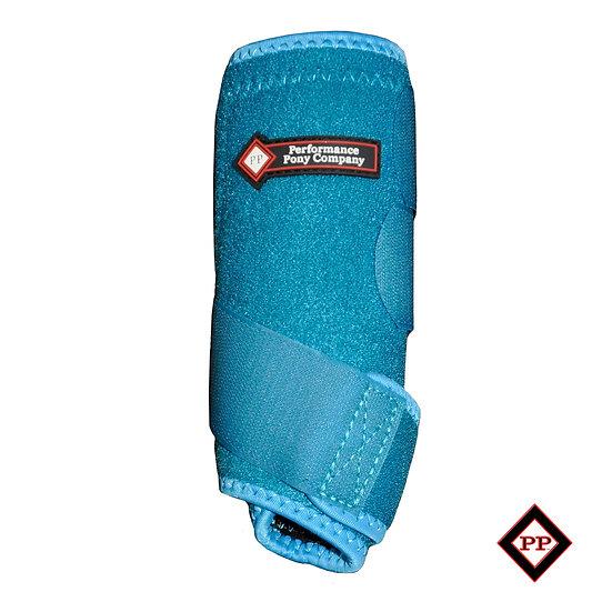 Turquoise Leg Boots