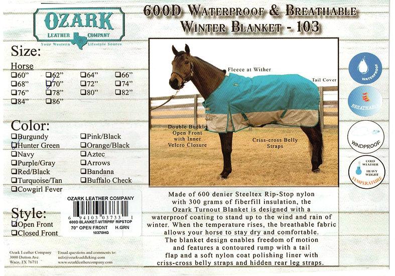 Burgundy Winter Blanket