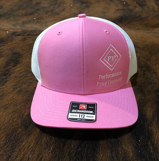 Pink/White PPC Cap