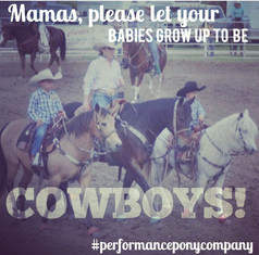 let your babies grow up to be cowboys.jp