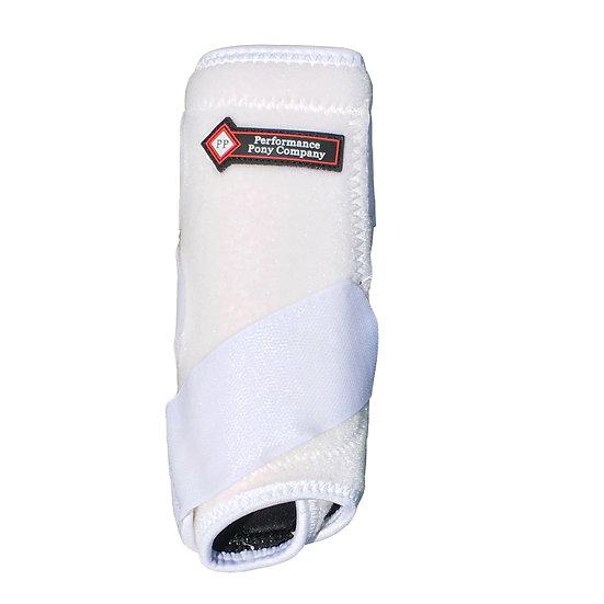 White Pony Leg Boot