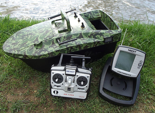 Lake Reaper Camoflauge with Fish Finder