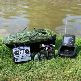 Lake Reaper Camo with FF918C Fish Finder