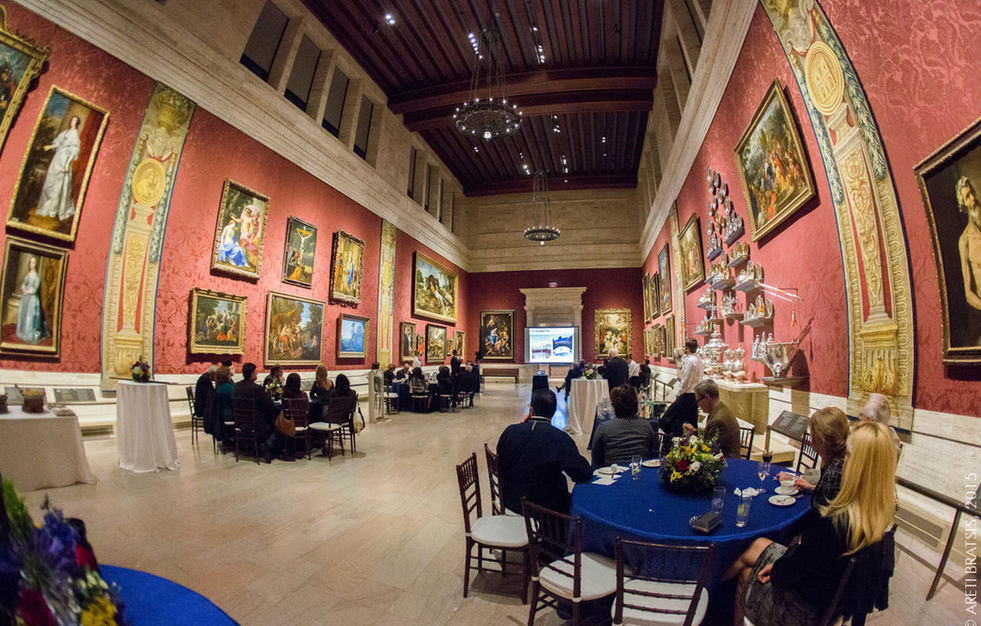 MFA private benefactor candid event