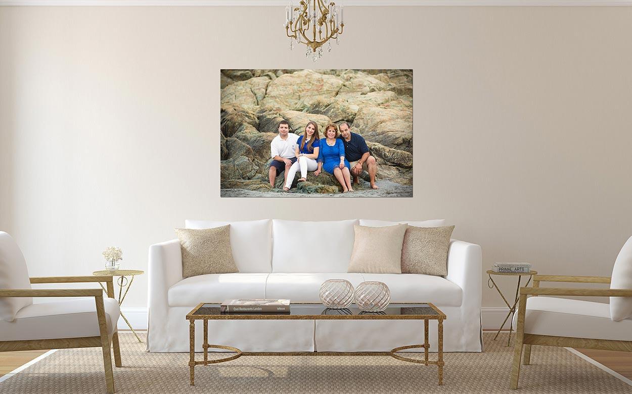 Living Room Frameless