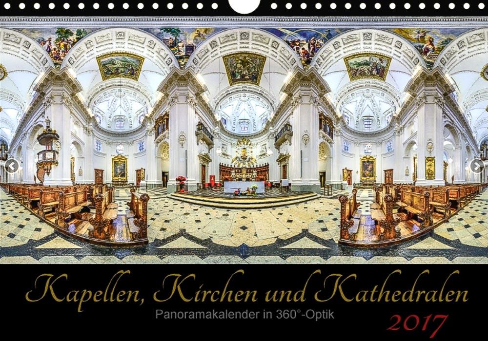 Kalender 2017 - Kirchen 360°