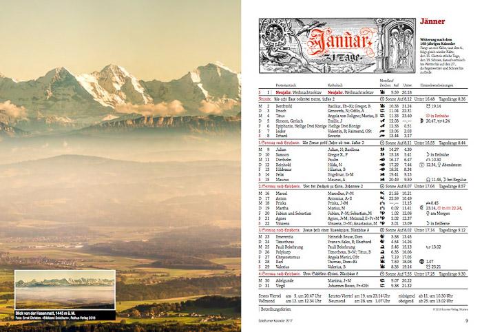 Solothurner Kalender 2017