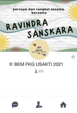 Line Official BEM FKG USAKTI