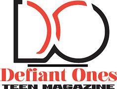 Defiant Ones Teen Magazine  logo with li