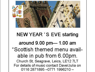 At a Lose End New Year's Eve?