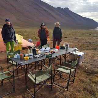 Arctic lunch