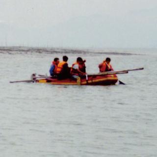 Vibrocoring at Namyang tidal flat