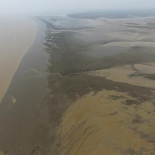 Inshore tidal flat