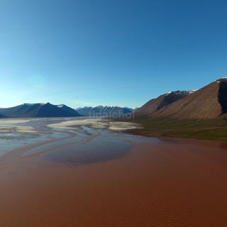 Tidal flat, salt pan