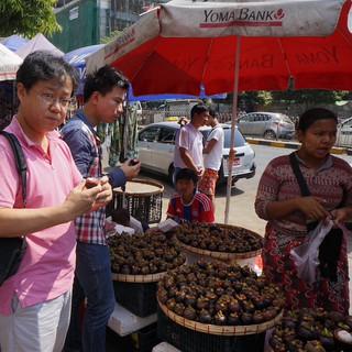 Bogyoke Market 2015