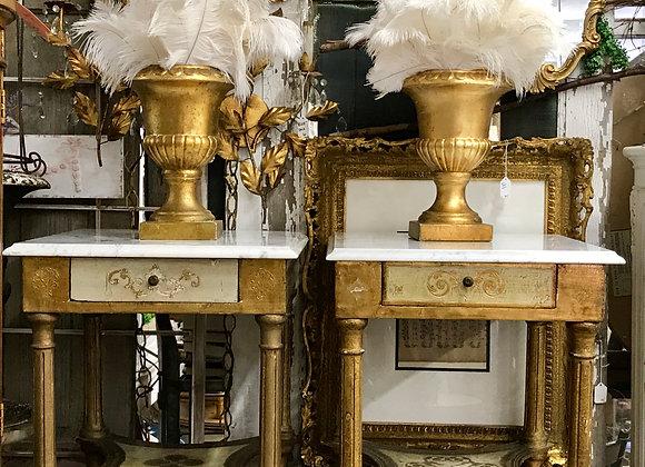 Florentine side tables