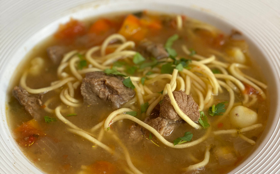 Beef Soup $15