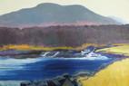 19.   Arenig Fawr from LLyn Celyn                 40 x 60 cms.JPG