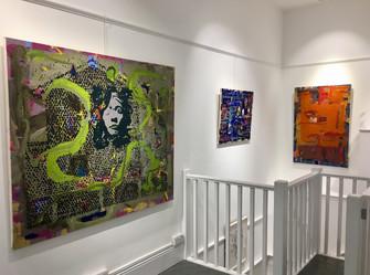'Recent Paintings' Exhibition, 2019, Felix & Spear, London
