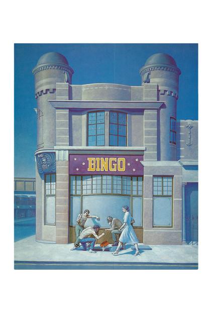 'Et en Arcadia Bingo', 1984, 160 x 114 cm, oil on canvas