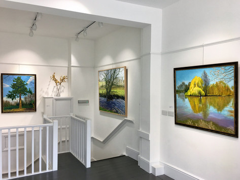 'Recent Paintings: Trees' Exhibition, 2018