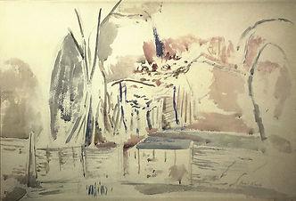 Paul Nash (1889-1946), March Woods, Study II