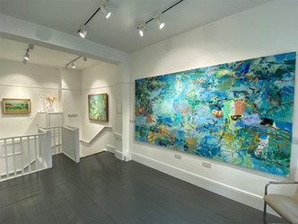 'Paintings of the Seventies and Eighties' 2021, Felix & Spear, London