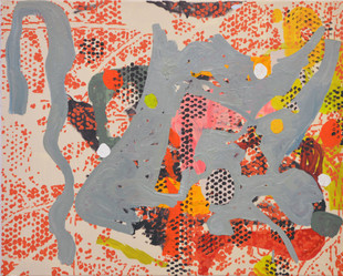 James Faure Walker (b.1948) 'Giraffe' 2019, 61 x 76 cm, oil on canvas