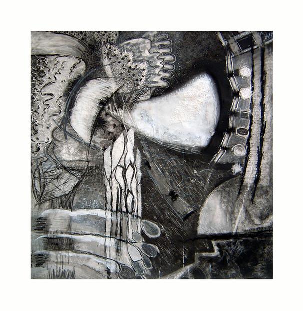 David Redfern (b.1947) 'Kandinsky Drawing No. 1' 2006/7 (from a series of 9), 127 x 122cm
