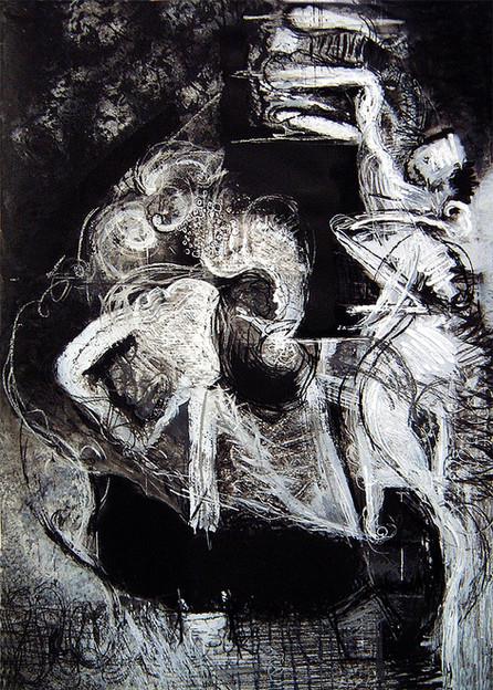 David Redfern (b.1947) 'Rubens Drawing No 7', 152 x 108cm