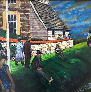 Carel Weight (1908-1997), Day of Rest