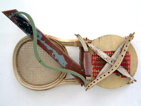David Redfern (b.1947) 'Broke 'n Brac' 2005, 62 x 100 x 20 cm