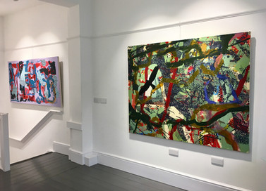 'Recent Paintings' Exhibition, 2019