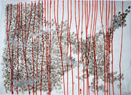 Rosie Leventon 'Drawing with Planes' 2007, 87 x 116 cm  Contact for Price